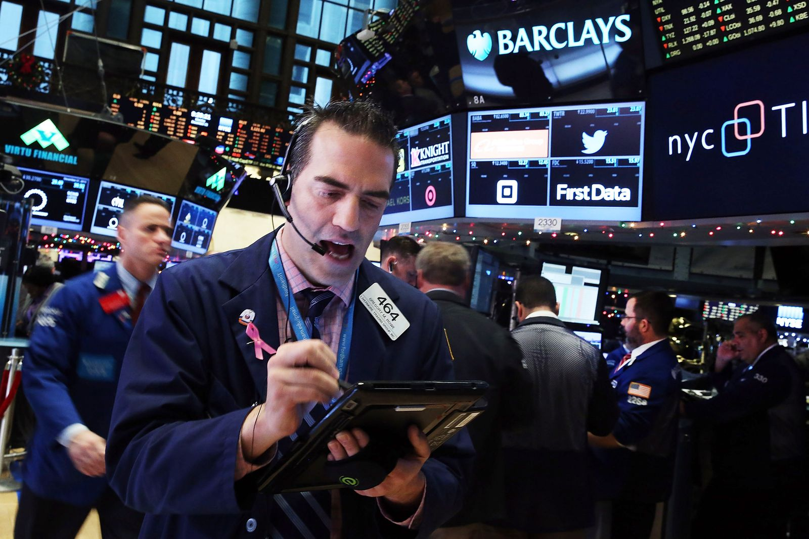 NYSE / Händler and der Börse