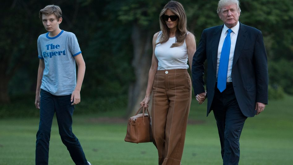 Barron Trump Was Wir Uber Den Sohn Von Donald Trump Wissen Manager Magazin