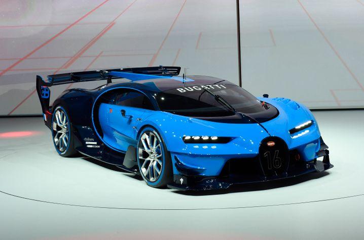 Konzeptauto: Der Bugatti Vision Gran Turismo