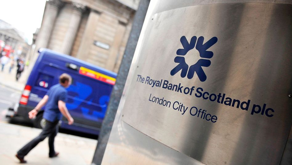 RBS in London: Bisher hat das staatlich gestützte Institut rund 1,9 Milliarden Pfund für einen Vergleich zurückgelegt