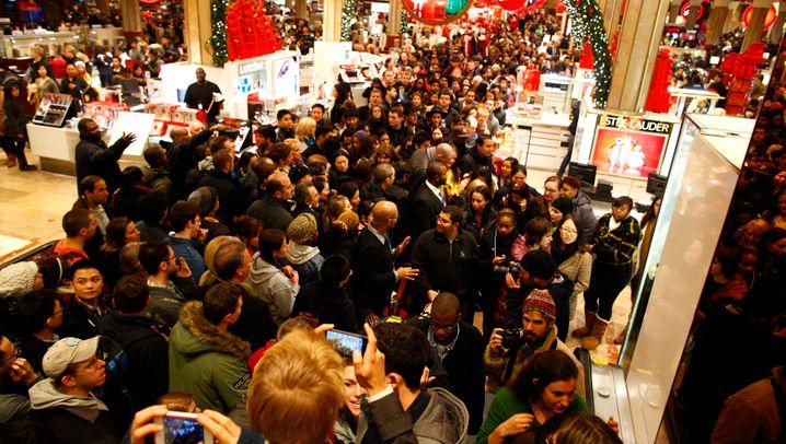 Black Friday in den USA: Kaufrausch trotz Rezessionsangst