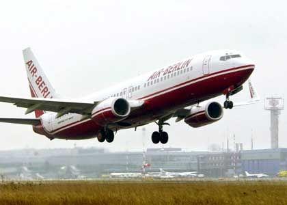Maschine der Air Berlin: Budapest ist nicht nur bei Billigfliegern beliebt