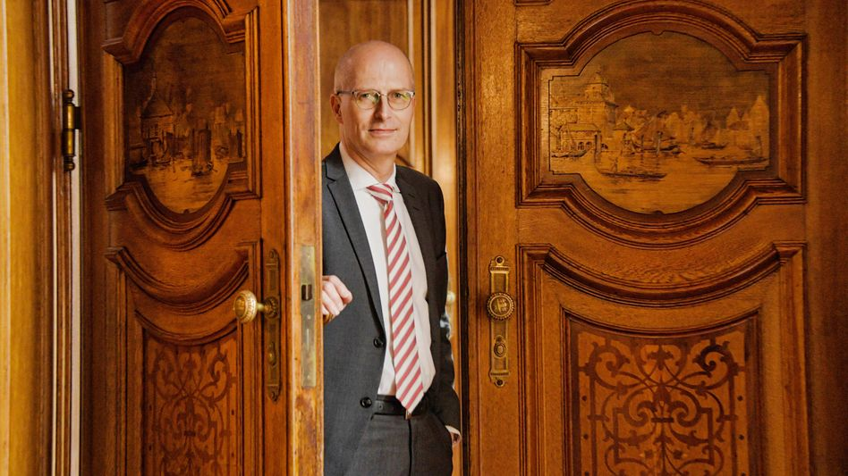 Hamburger Bürgermeister: Peter Tschentscher (SPD)