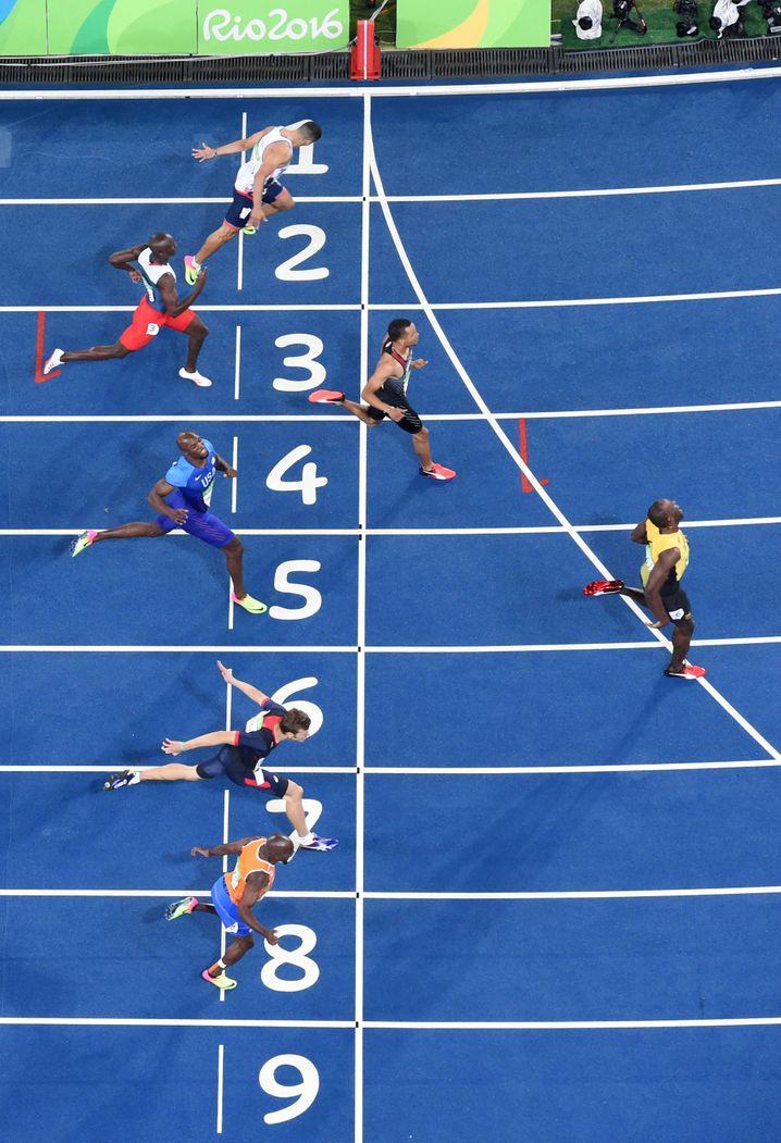 Läufer bei Olympia: Fit sein heißt nicht nur schnell sein