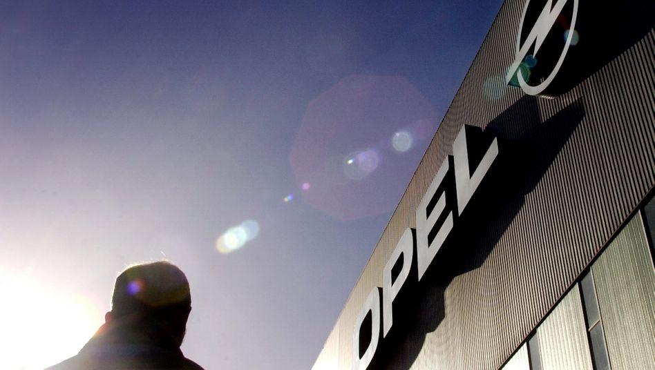 Gelände des Opel-Werks in Bochum: ganz normal in die Frühschicht