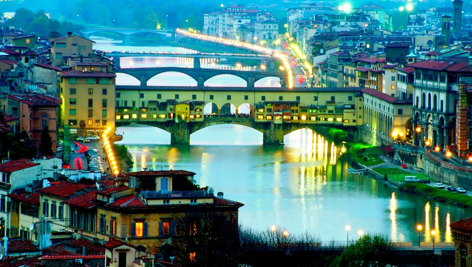 Ponte Vecchio in Florenz: Noch kein Ende des Schrumpfkurses