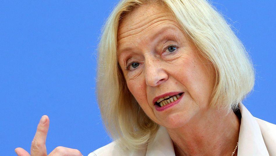 Mehr als nur der reine Höchstsatz: CDU-Bildungsministerin Johanna Wanka sieht die Bafög-Erhöhung als Teil eines Gesamtpakets