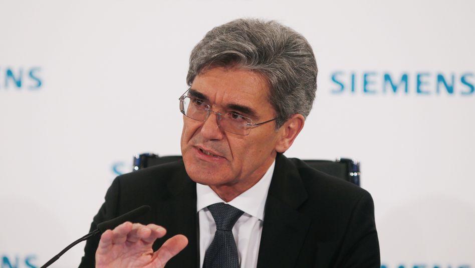 """Siemens-Chef Joe Kaeser: """"Stresstest für Deutschland und die gesamte Europäische Union"""""""