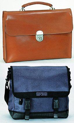 Feines Businessgepäck und robuste Tornister: Taschen aus der Kollektion der Brüder Axel und Philipp Bree