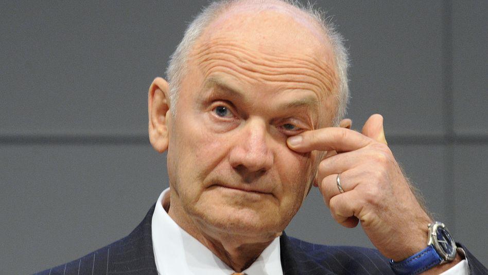 Ferdinand Piëch: Der VW-Patriarch und Großaktionär verhandelt über den Verkauf seiner Anteile