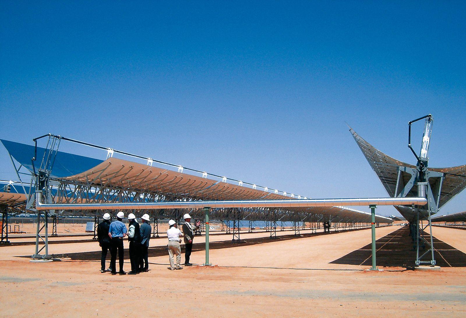 Solar Millennium AG / USA / Das Skal-ET Demonstrationsprojekt der Solar Millennium AG in einem bestehenden Kraftwerk in Kalifornien