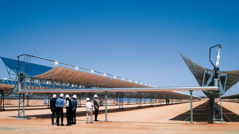 Energie made in USA: Solar Millennium ist in den Staaten schon seit Jahren mit Sonnenkraftwerken im Geschäft