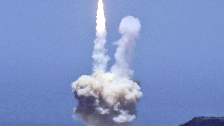 Raketenabwehrsystem: Die siebte US-Flotte hat derzeit sechs Schiffe der Aegis-Klasse in der Region, die für die Raketenabwehr ausgerüstet sind. Japan hat weitere vier solcher Schiffe.