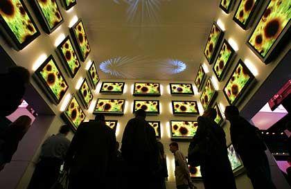 Kult um Plasmaschirme: Design wird zunehmend zum Verkaufsargument.