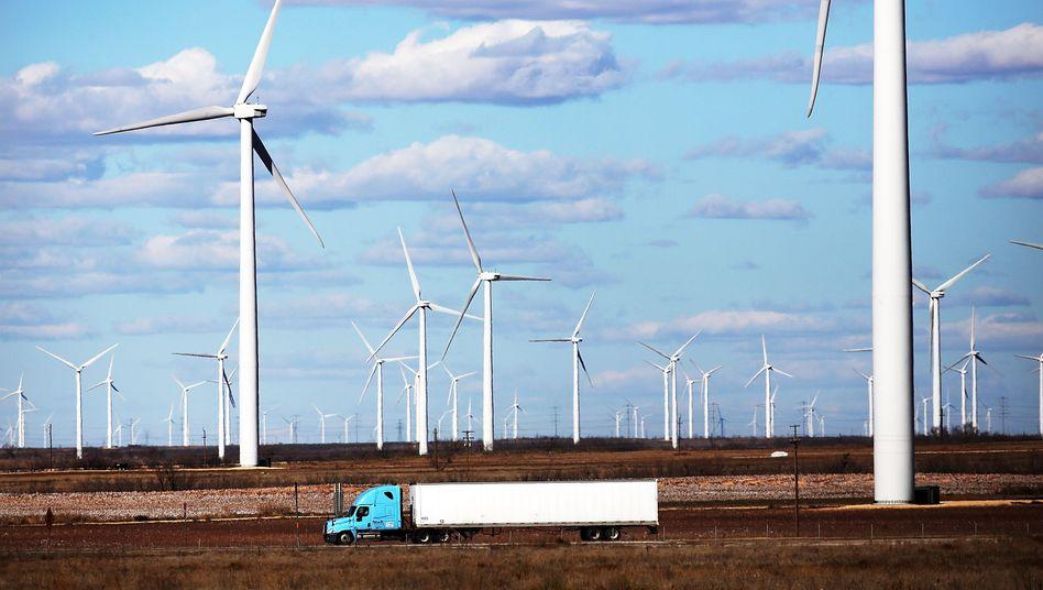 Windräder in Texas