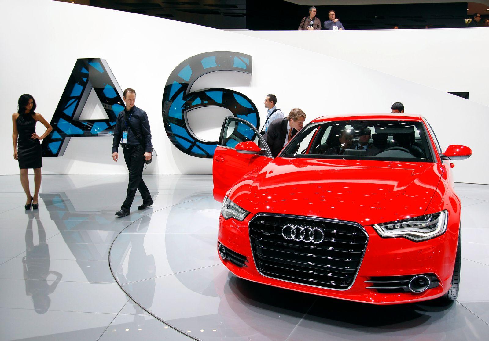 Audi A6 / North American Auto Show