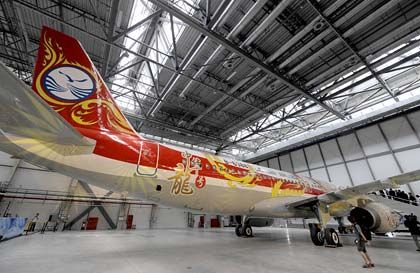 A320-Fertigung in China: EADS will sich nach und nach vom Standort Europa lösen