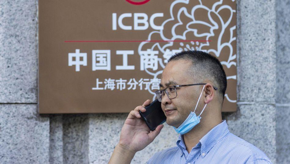 Sorge vor den kommenden Monaten: Zentrale der größten Bank Chinas, der ICBC.