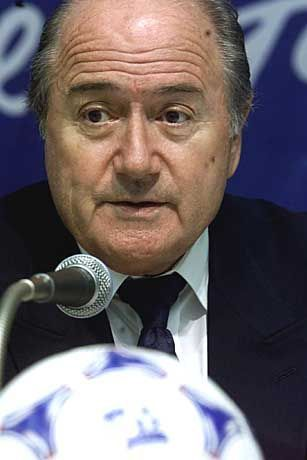 Unter Beschuss: Fifa-Präsident Joseph Blatter