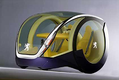 Peugeot Moovie: Fährt bisher in Designwettbewerben vorne weg