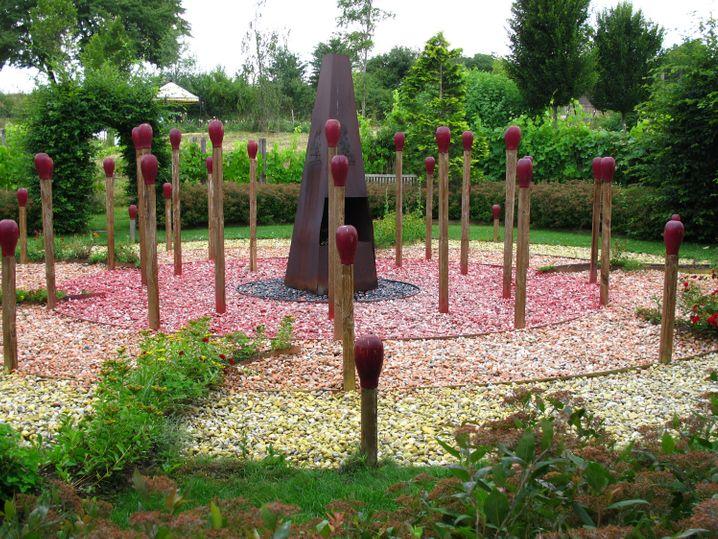 Die Kittenberger Erlebnisgärten dienen vielen Hobbygärtern als Ort für Anregungen - wenngleich sich nicht alle Kunstwerke im heimischen Garten umsetzen lassen