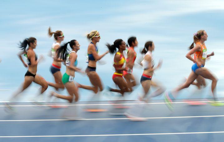 Die wären garantiert in der schnellen Gruppe: Finale beim 10.000-Meter-Lauf der Olympischen Spiele in Rio