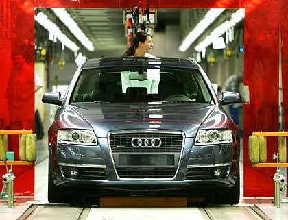 Seit einem Monat in Neckarsulm auf dem Band: Neuer Audi A6 Avant