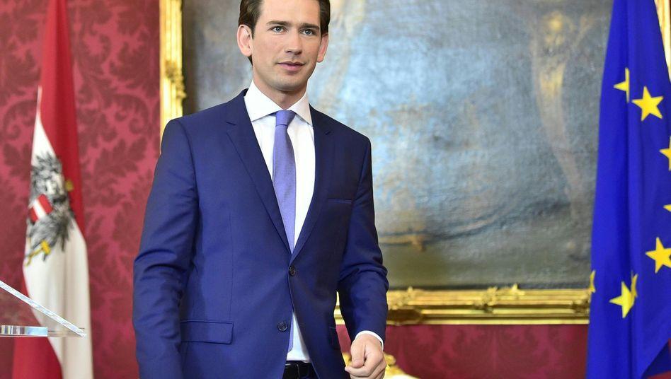 Österreichs Bundeskanzler Kurz muss sich am kommenden Montag einem Misstrauensvotum stellen