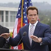 Haushaltsprobleme: Kaliforniens Gouverneur Arnold Schwarzenegger