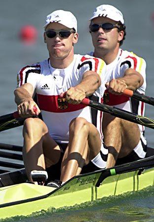 Ruderer Sebastian Mayer (l.) und Stefan Roehnert (r.)