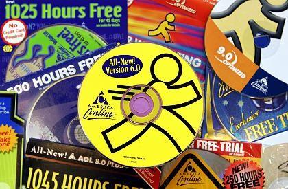 AOL Promo-CDs: In Zukunft soll der Gewinn stärker durch Werbung generiert werden