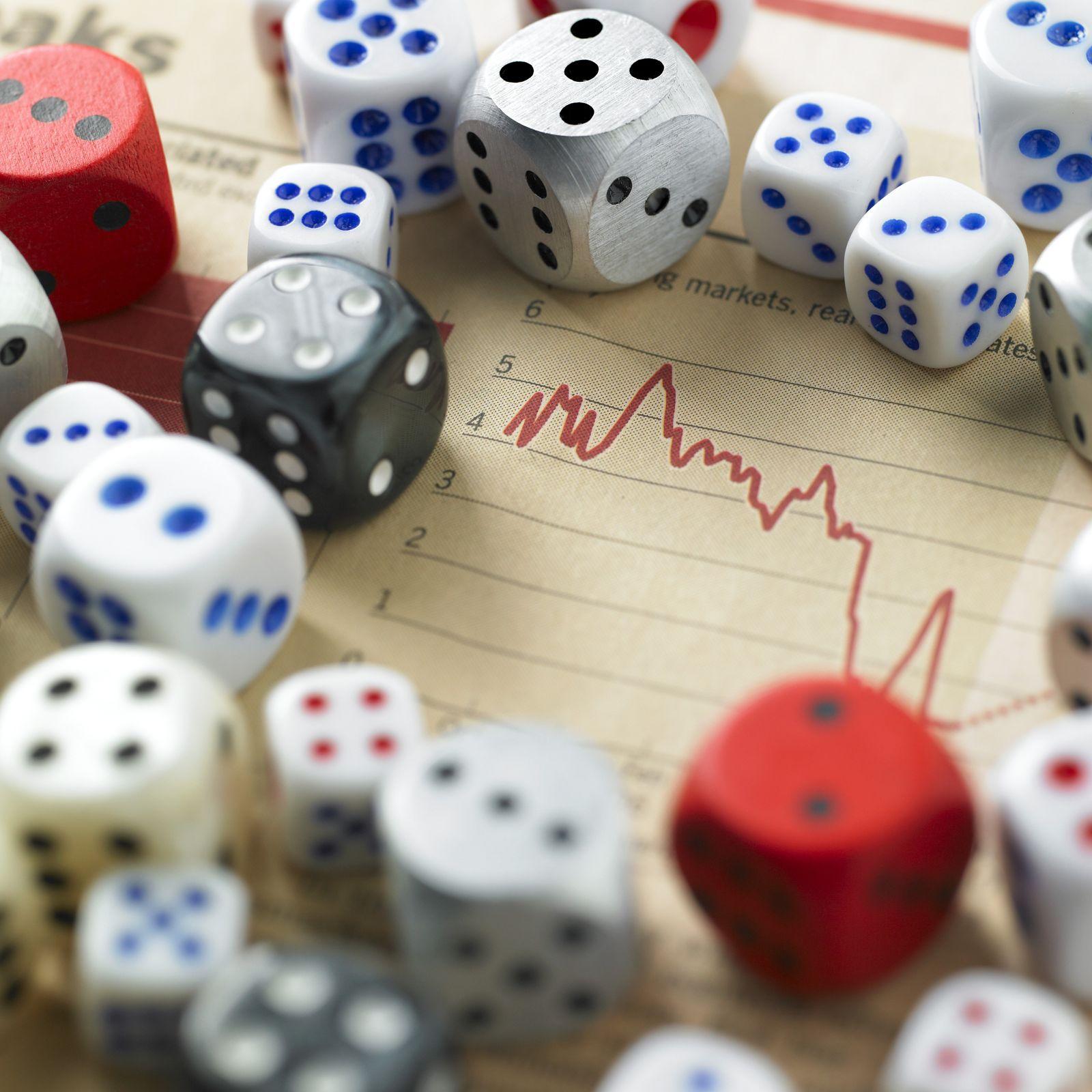 NICHT MEHR VERWENDEN! - Glücksspiel / Zufall / Würfel / Casino / Aktienpoker