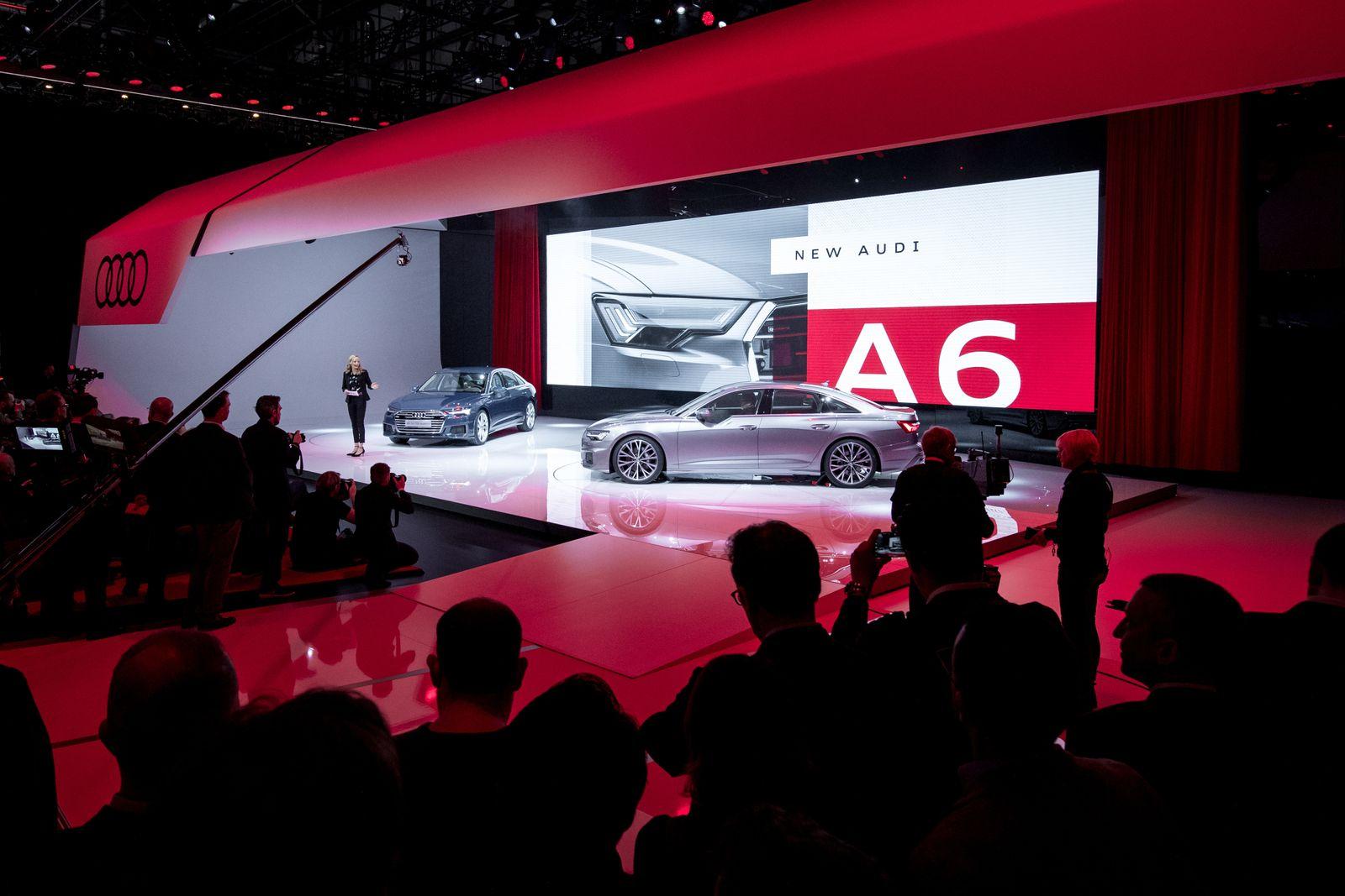 2018 / Audi A6 / Genf