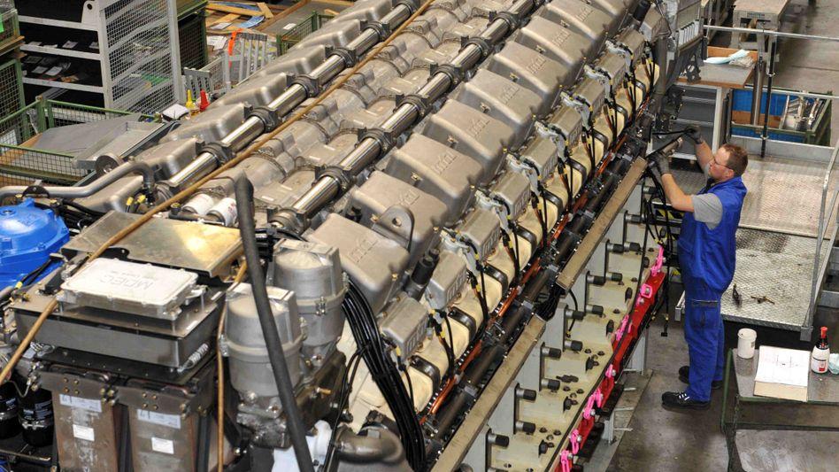 Großmotorenhersteller Tognum: Daimler und Rolls-Royce haben ihr Angebot aufgebessert.