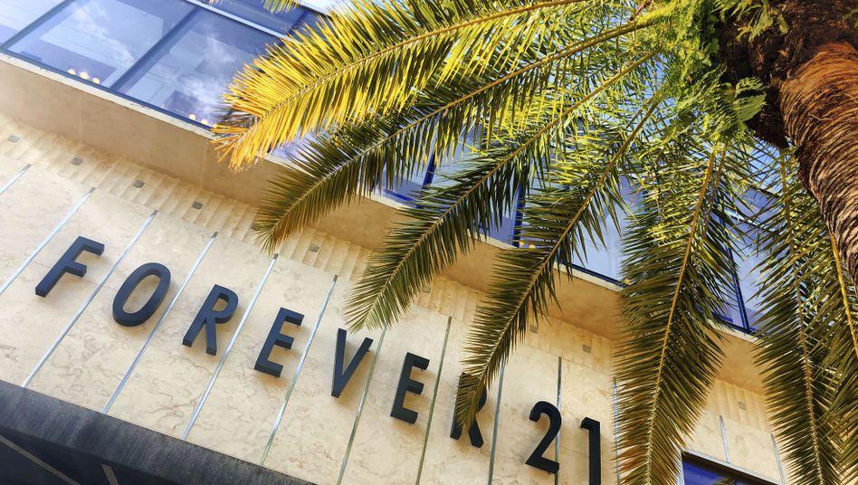 Forever21: Fast-Fashion-Unternehmen meldet Insolvenz an