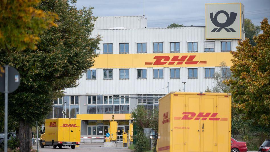 DHL-Frachtzentrum in Köngen (Landkreis Esslingen)