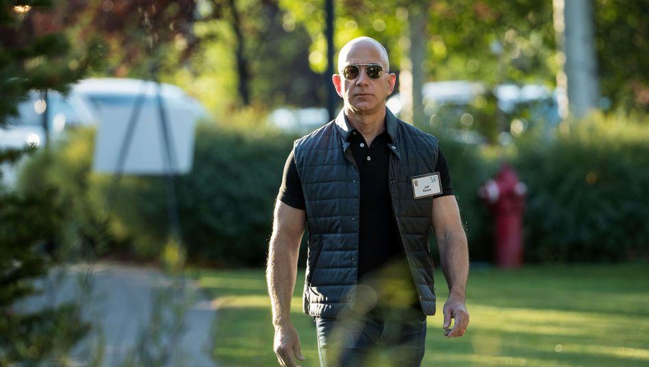 Zieht euch warm an: Bezos kommt