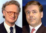 Aversion: Deutschbanker Josef Ackermann ist Fischers Intimfeind