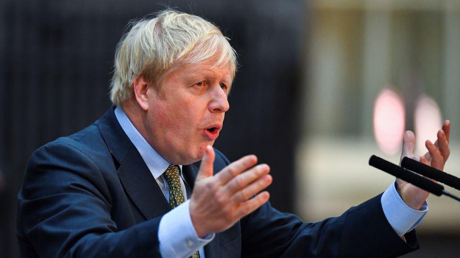Boris Johnson: Sollten die Briten es nicht bis Dezember 2020 schaffen, ein Freihandelsabkommen mit der EU auszuhandeln, droht ein Brexit ohne Deal.