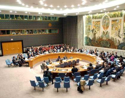 Von Bush übergangen: Der UN-Sicherheitsrat