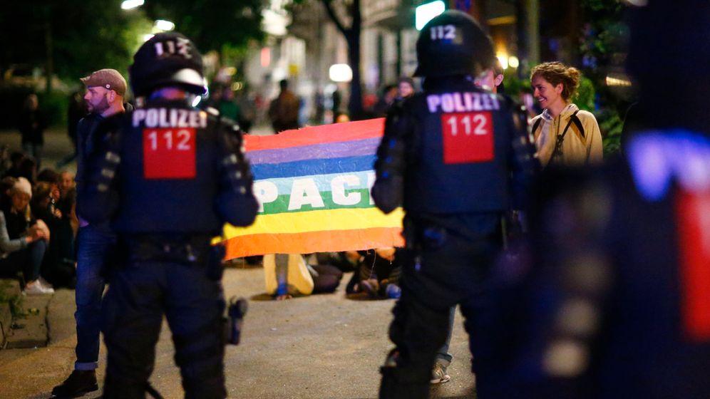 G20-Gipfel in Hamburg: Randale im Schanzenviertel