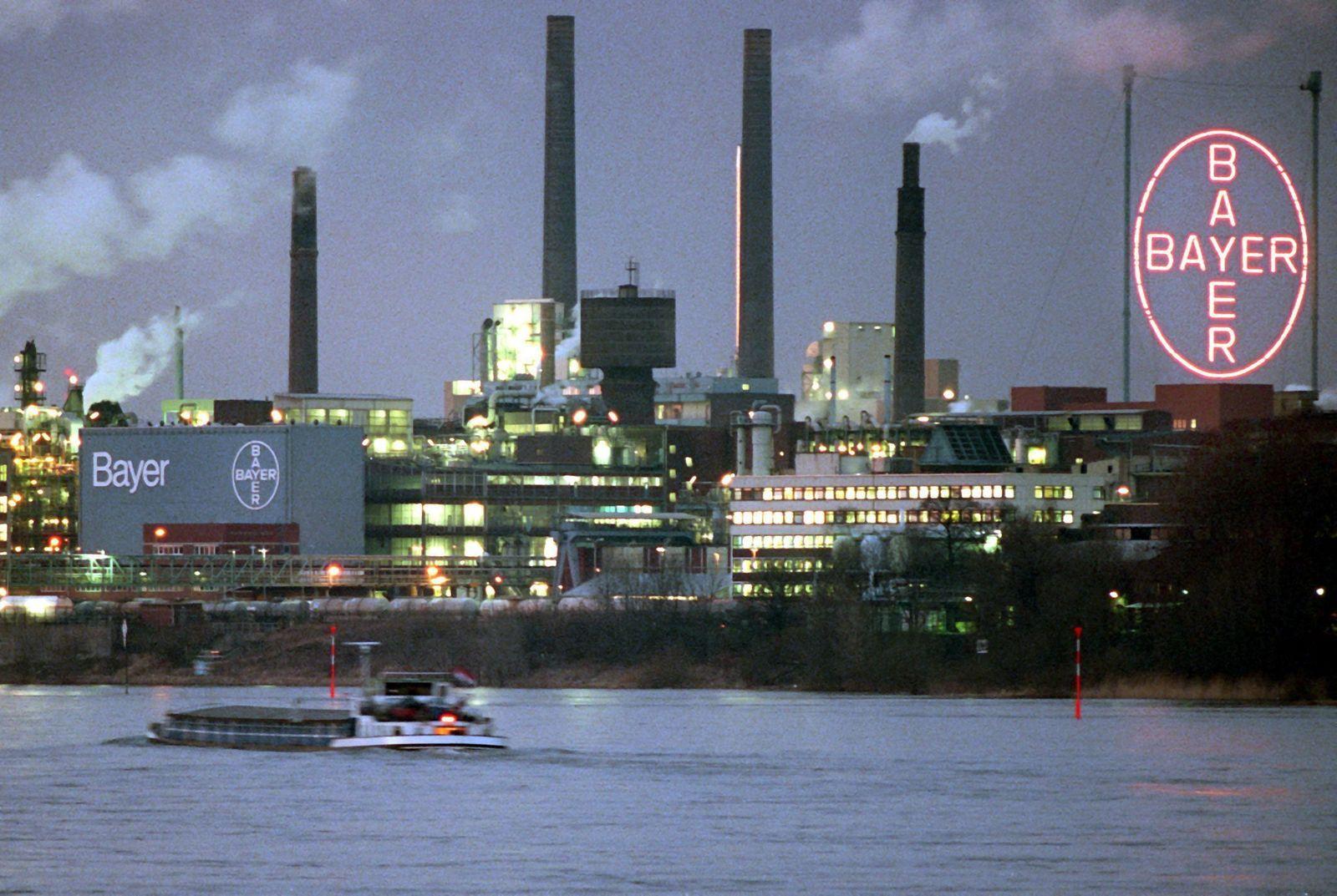 Bayer Werk am Rhein
