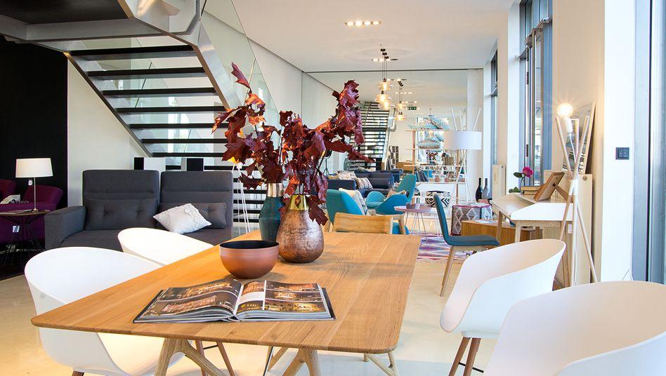 Home24 Showroom in Wien: Aktionäre klammern sich an jeden Strohhalm