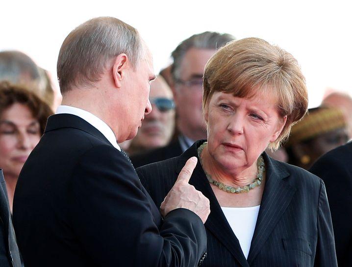 Unterkühltes Verhältnis: Die Russland-Sanktionen schaden Deutschland mehr als Putins Reich, behauptet die AfD