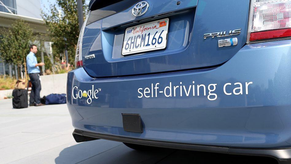 Google car: Der IT-Riese testet selbstfahrende Autos in den USA