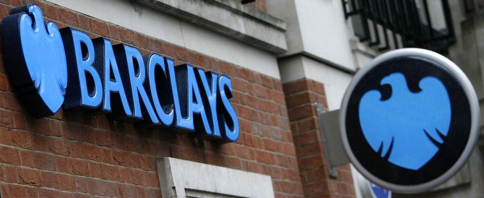 Überrascht in der Schuldenkrise: Die britische Großbank Barclays