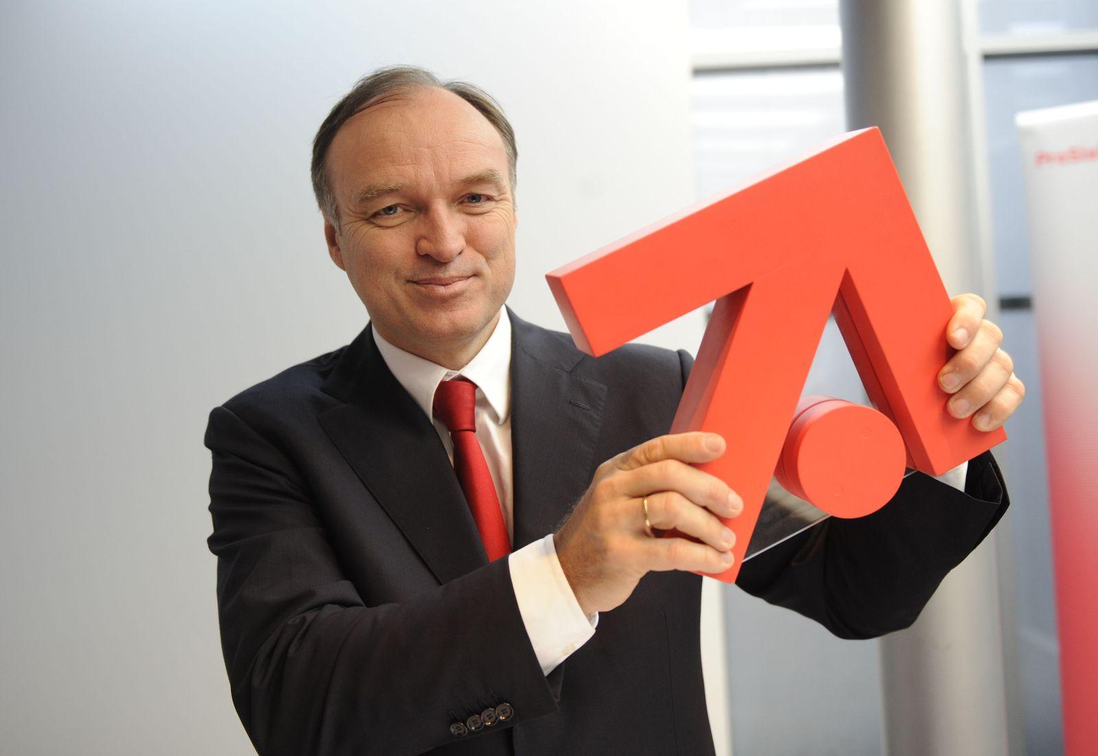 Bilanz-Pk ProSiebenSat1 / Thomas Ebeling