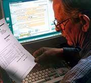 Bankgeschäft mit Risiko: Beim Online-Banking klafft eine Sicherheitslücke