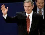 Von der Vergangenheit eingeholt: George W. Bush