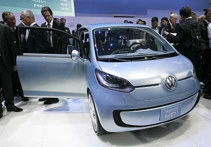 Spacig: Der neue Microvan Space Up! ist das bislang zweite Mitglied der neuen VW-Kleinstwagenfamilie